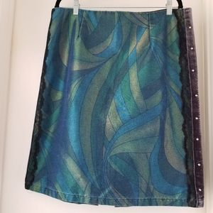 Iridescent green Skirt by Fashion Overdose
